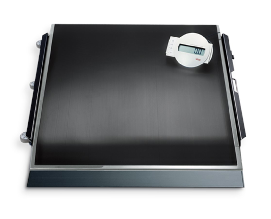 674 High Capacity Digital Platform Scale with Transport Castors SEC6741321103
