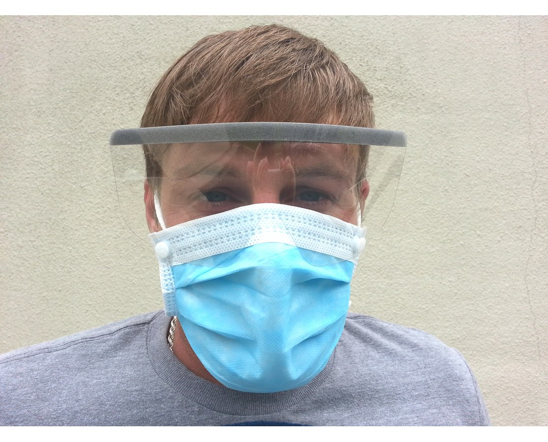 over ear surgical mask