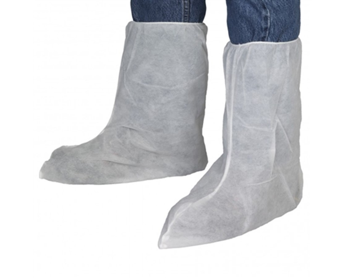 "White Polypropylene 13"" Boot Covers SNTT145"