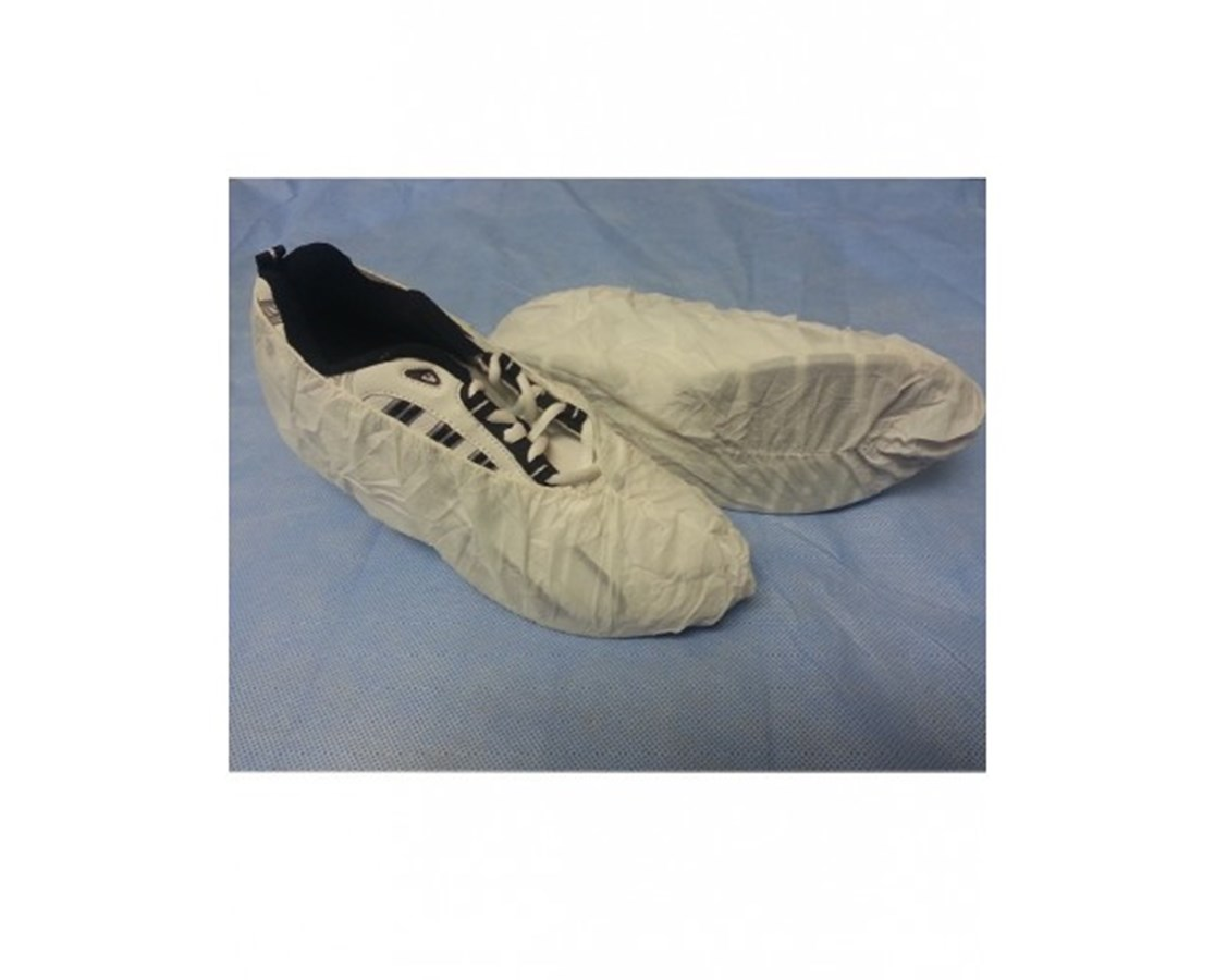 White Ultimate Skid Resistant Shoe Cover SNTT156