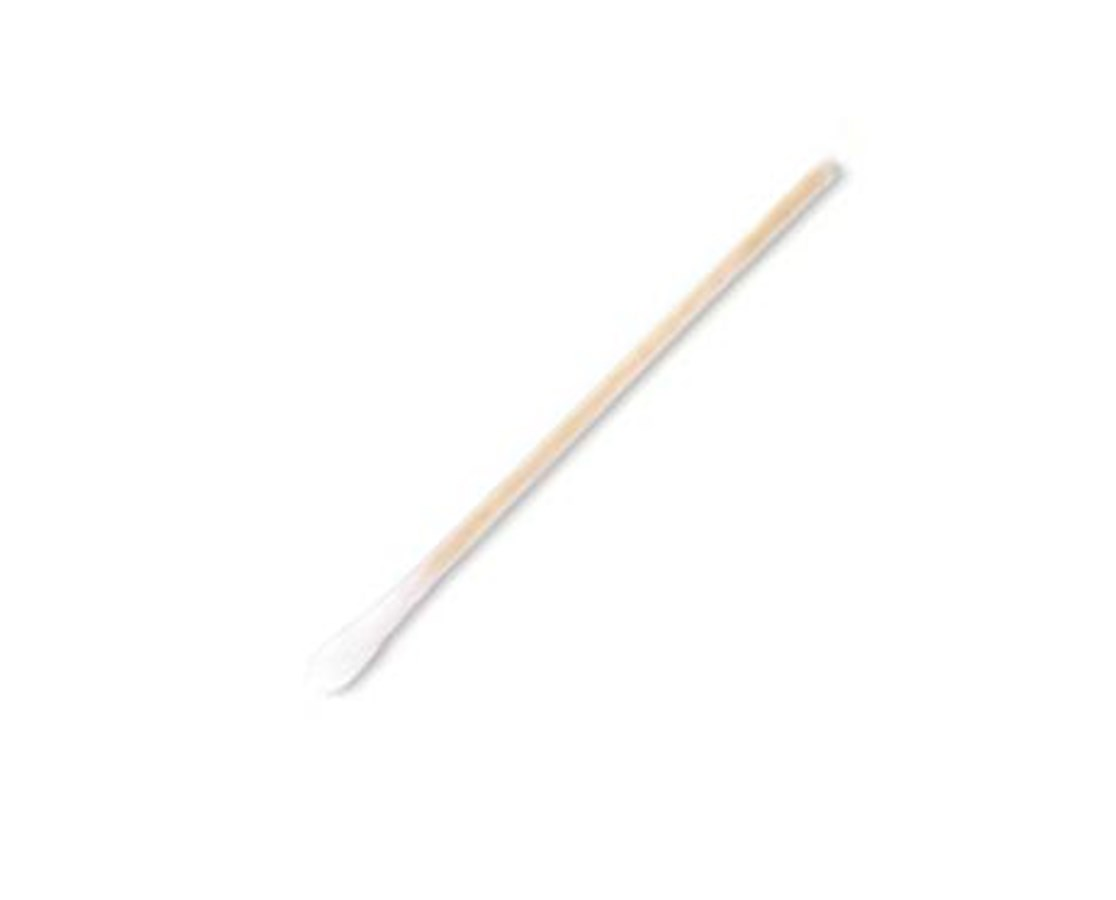 "Cotton-Tipped 3"" Wood Applicator Swab SOL56100-"