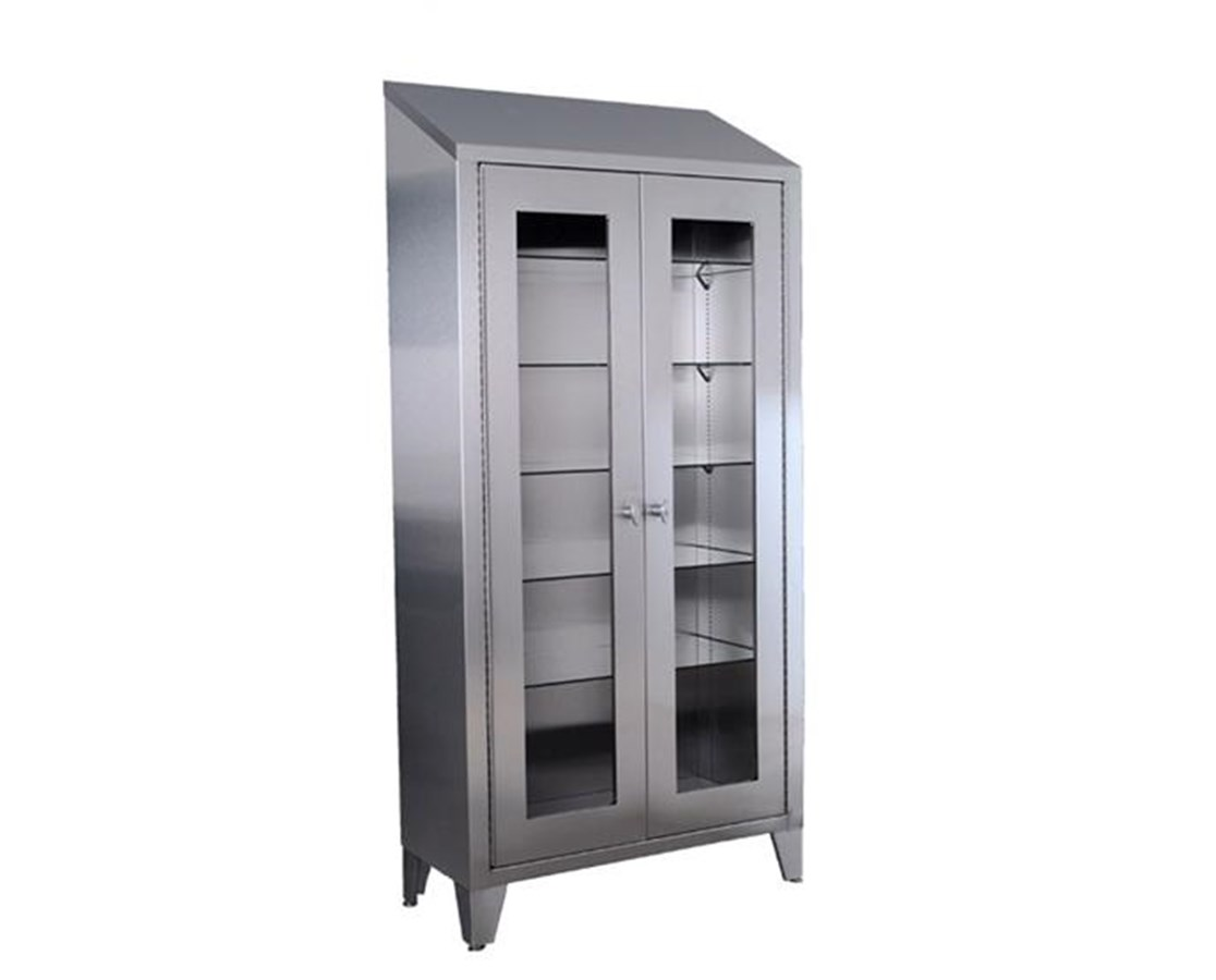 "78"" Stainless Steel Large Storage Cabinet UMFSS7834"