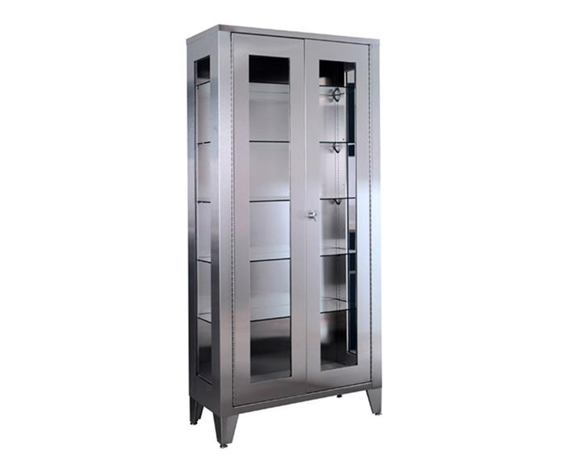 "77"" Stainless Steel Large Storage Cabinet UMFSS7840"
