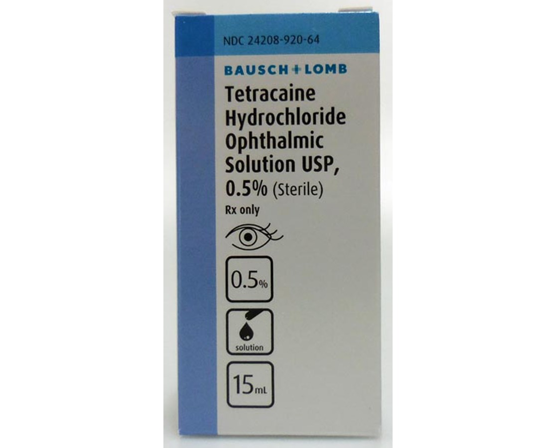 TETRACAINE OPHTH 0.5% 15ML SOLN VAL24208092064