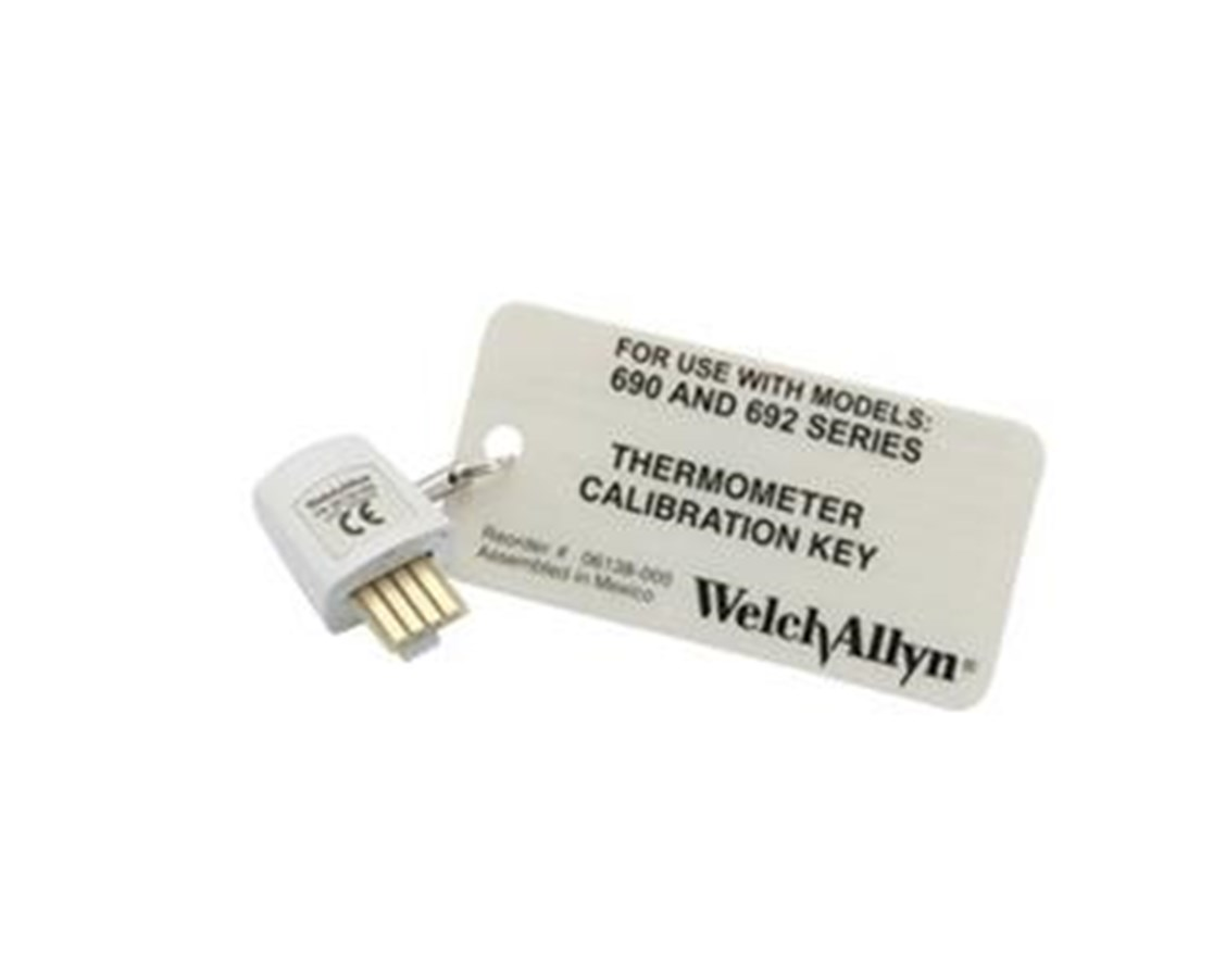 SureTemp® Plus Thermometer Calibration Key WEL06183-000