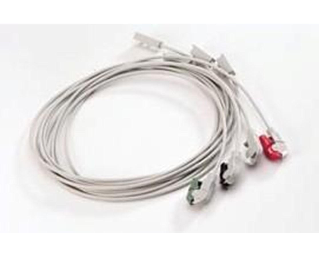 4-Lead Holter Patient Cable WEL80188-0000
