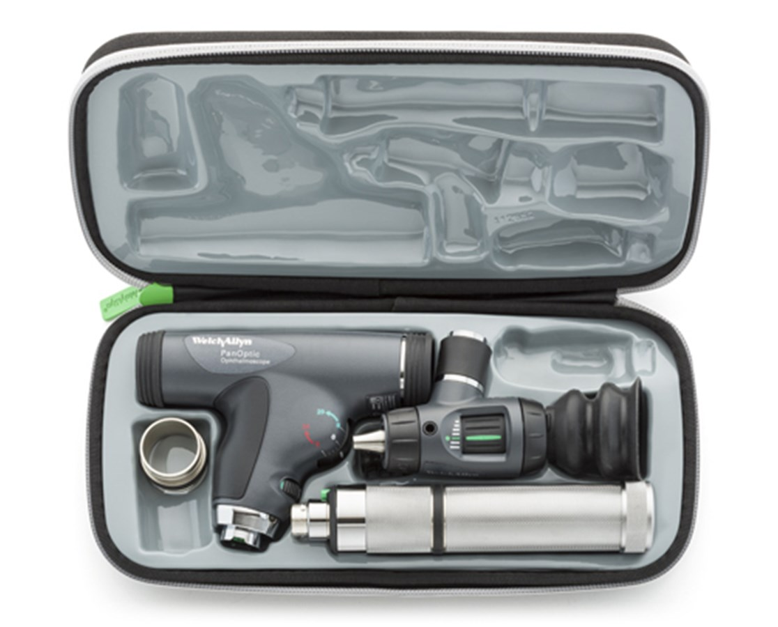 Halogen HPX Diagnostic Set with PanOptic Ophthalmoscope WEL97800-MS-