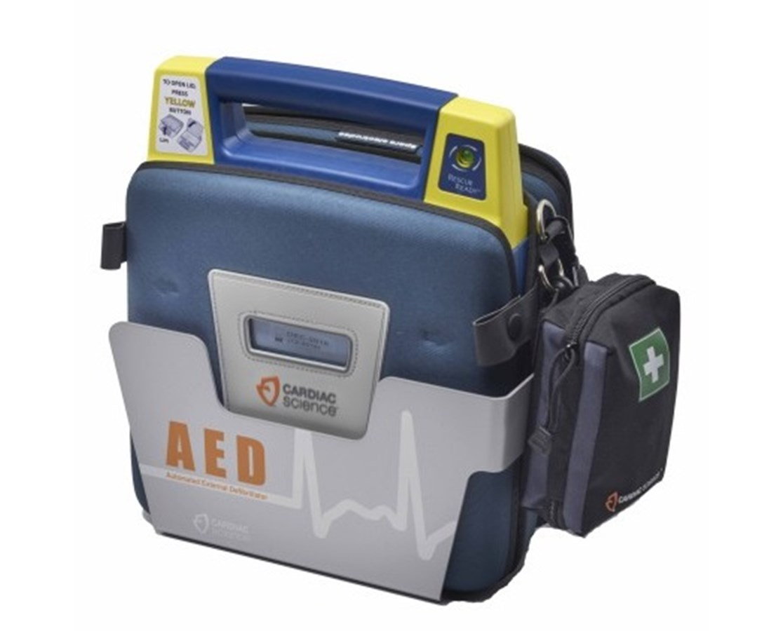 Wall Mounted Storage Sleeve for Powerheart AEDs ZOL180-2022-001