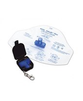 Adsafe Plus CPR Face Shield w/ Keychain ADC4056BK-
