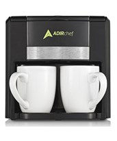 BFF Coffee Maker for Two ADI800-02-BLK