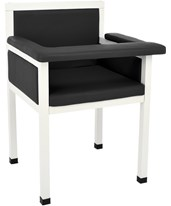 Luxe Upholstered Blood Drawing Chair ADI997-02-BLK-