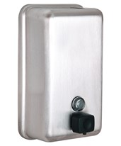 Stainless Steel Liquid Soap Dispenser ALP423-SSB-