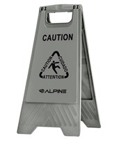 Caution Wet Floor Sign ALP499-GRY