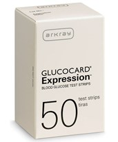 GLUCOCARD Expression Test Strips for GLUCOCARD Expression Meter - 50/bx ARK570050