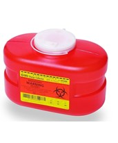Multi-Use One Piece Sharps Collector - Funnel Top BD305488-1-