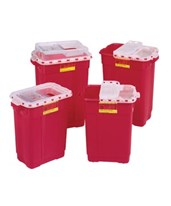 Extra Large Sharps Collector Hinged Top With Gasket BD305601-