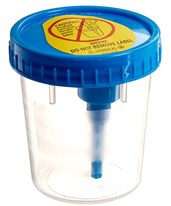 Vacutainer® Urine Collection Cup with Integrated Transfer Device - 200/Case BD364975