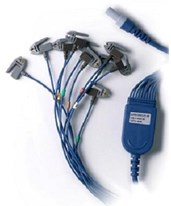 10-Lead Stress Patient Cable CAR60-00180-01-
