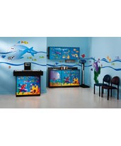 Complete Exam Pediatric Furniture Package - Ocean Commotion Scale Table & Cabinet CLI7836-X