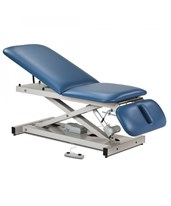 Open Base Power Exam Table with Adjustable Backrest & Drop Section CLI80330