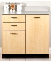 Base Cabinet with 2 Doors & 2 Drawers CLI8036-