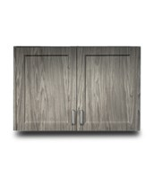 Fashion Finish Wall Cabinet w/ 2 Doors CLI8336-