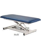 Extra Wide Bariatric Straight Top Power Exam Table with Open Base CLI84100
