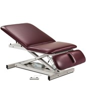 Extra Wide Bariatric Power Exam Table with Adjustable Backrest & Drop Section CLI84430