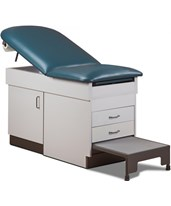 Space Saver Cabinet Treatment Table with Step Stool CLI8844-