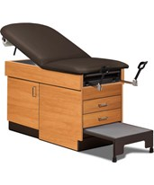Family Practice Exam Table With Step Stool CLI8890-