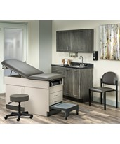 Complete Exam Room Furniture Package - Fashion Finish Ready Room CLI8890-RRFF