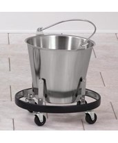 Stainless Steel Kick Bucket and Frame CLISS-160-