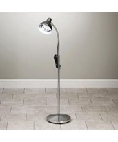 Gooseneck Lamp with Chrome Finish CLIT-10