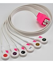 Kendall™ Cable and Lead Wire System, 6 Lead Telemetry System COV33126-