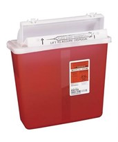 SharpStar Sharps Container w/ Counter Balanced Lid COV8507SA-