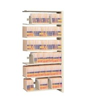 "4 Post Double Entry Add-On Shelving 76-1/4"" High, 5 to 7 Tiers DAT762424-A5-"