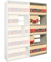 "4Post X-Ray Add-On Shelving 85-1/4"" High, 5 Openings DAT851824-A5-"