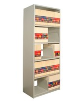 "4Post X-Ray Shelving 85-1/4"" High, 5 Openings DAT851824-S5-"