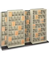 ThinStak BiSlider Filing System 5 Units - 3/2 DATB632LT7--