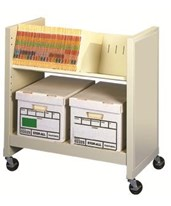 FileCart Letter/Legal with Utility Shelf and End Panels DATBFC-1EP