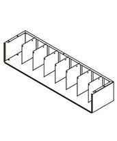 VuStak Mini Tier Shelving DATD2409--D2409TB-