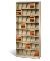 ThinStak Open Shelf Filing System - 8 Tiers - Legal-Size DATSO24LG8-