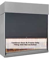 Tambour Door for Shelving Units - Thinstak, 4Post, Vu-Stak DATTD24-65-