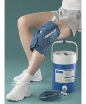 Cryo-compression Therapy - Knee Cryo Cuff & Cooler DJO11A