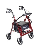 Duet Transport Chair-Rollator DRI795B-