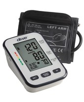Deluxe Automatic Blood Pressure Monitor, Upper Arm DRIBP3400