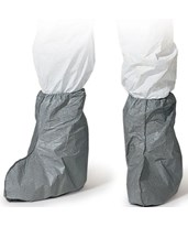 "Grey Tyvek Friction Coated 17"" Height Boot Covers DUPFC454SGY"
