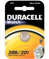 1.5V Medical/Electronic 301/386 Button Cell Battery - 36/Case DURD301-386PK