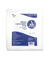 Minor Laceration Tray - Sterile DYN4523-