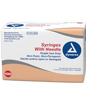 Syringes with Needle - Luer Slip DYN6994--